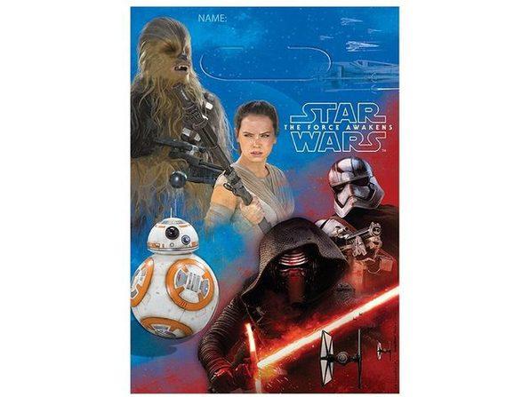 Star Wars Force Awakens Loot Bags - Blue