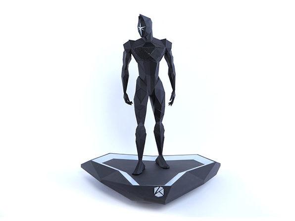 AD'OM Prime: Kalium Humanoid Speaker (Black)