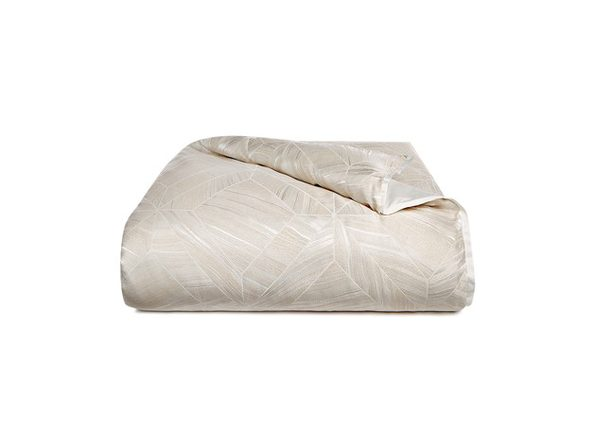 Hotel Collection Alabastar Full/Queen 94 Inches x 96 Inches Duvet Cover with Zipper Closure, White