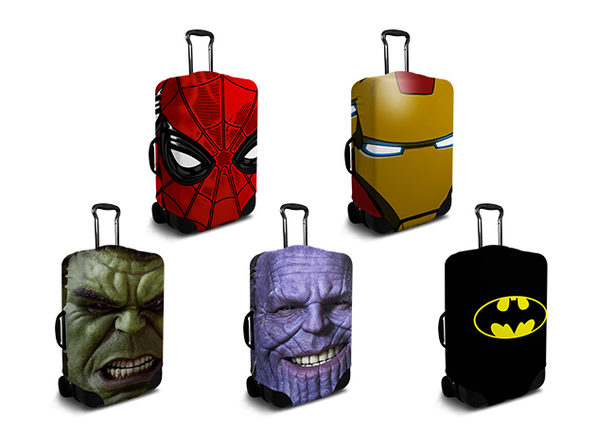 SuitFaces Custom Luggage Covers: $40 Store Credit For $30