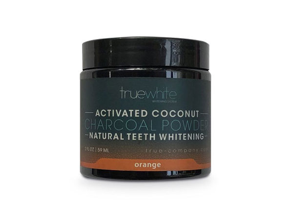 truewhite Teeth Whitening Charcoal Powder Orange Flavor 2oz - Product Image