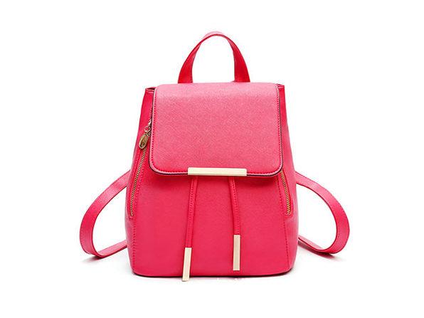 Katalina Convertible Backpack (Hot Pink)