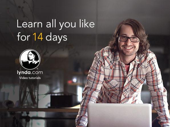 lynda.com 14-Day Membership - Product Image
