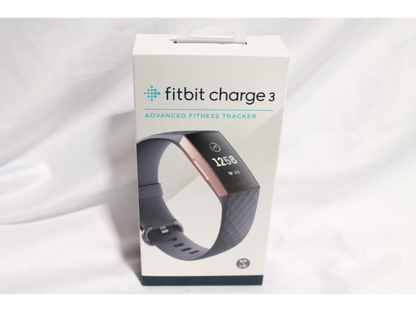 Fitbit Charge 3 Fitness Activity Tracker Rose Gold/Blue Grey (No Box)