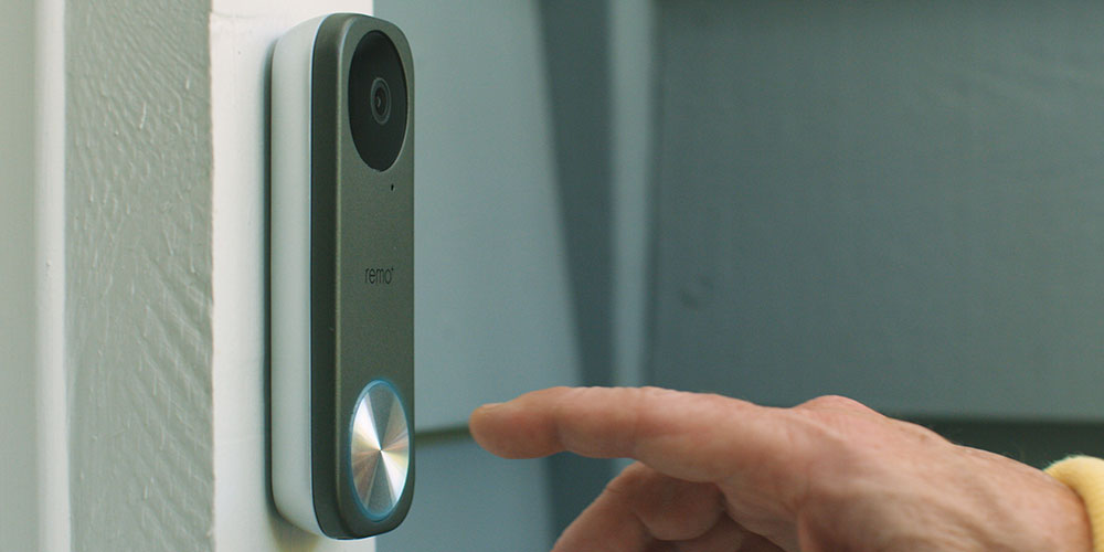 RemoBell® S: Fast-Responding Smart Video Doorbell Camera, on sale for $78.19 when you use coupon code GOFORIT15 at checkout
