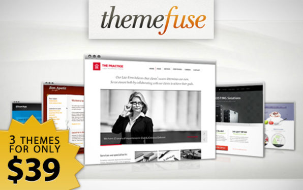 The ThemeFuse WordPress Trio  - Product Image