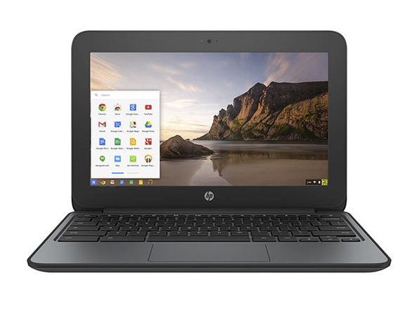 "HP G4 EE 11.6"" Chromebook Intel Celeron N2840 16GB - Black (Refurbished)"