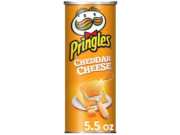 Pringles Potato Cheddar Cheese Perfectly Flavored Crisps and Tasty Chips, 5.5 Ounce