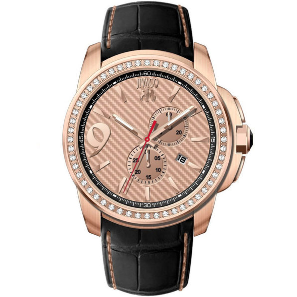 Jivago Men's Gliese Rose gold Dial Watch - JV1535 - Product Image