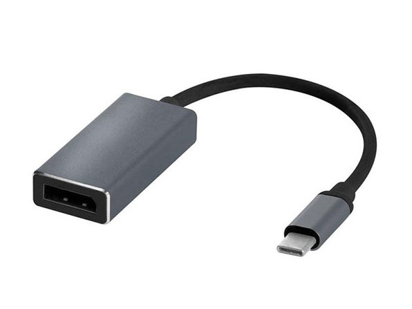"6"" Cable Adapter: Type-C to DisplayPort"