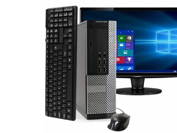 "Dell OptiPlex 9020 Desktop PC, 3.2 GHz Intel i5 Quad Core Gen 4, 16GB DDR3 RAM, 2TB SATA HD, Windows 10 Professional 64 bit, 22"" Widescreen Screen (Renewed)"