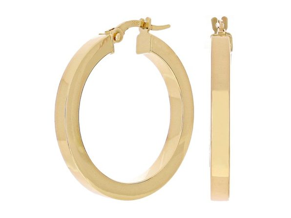 Christian Van Sant Italian 14k Yellow Gold Earrings - CVE9H98