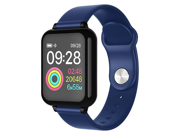 Smart Fit Multi-Functional Wellness & Fitness Watch (Blue)