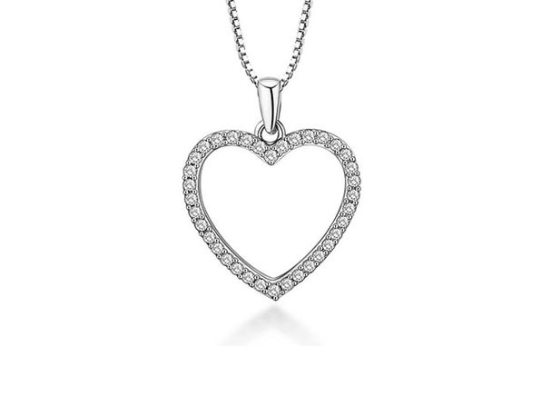 Open Heart Necklace - Product Image