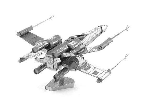 X-Wing Fighter 3D DIY Metal Sculpture
