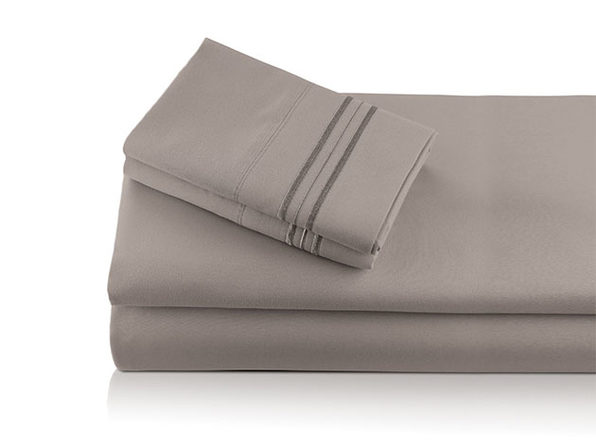 Bali Bamboo Luxury 6-Piece Taupe Sheet Set (Queen)
