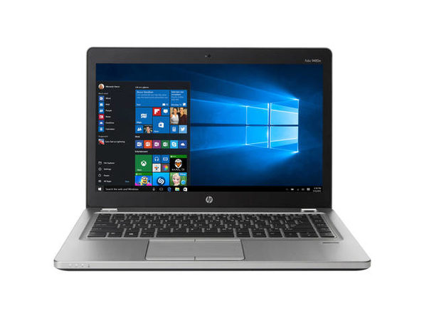 "HP EliteBook 9480M 14"" Laptop, 1.9GHz Intel i5 Dual Core Gen 4, 8GB RAM, 256GB SSD, Windows 10 Home 64 Bit (Refurbished Grade B)"