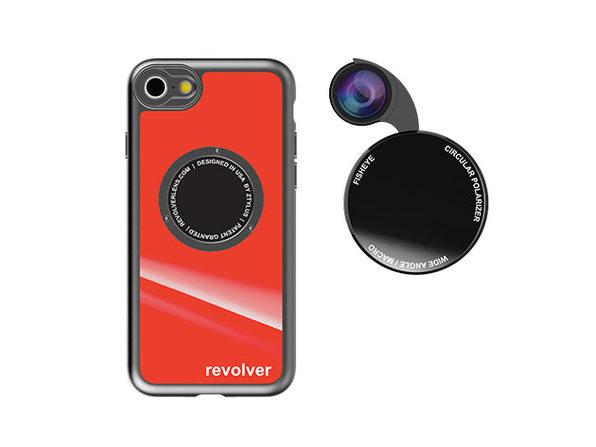 Ztylus Revolver M4 iPhone 7/8 Lens Kit (Gloss Red)