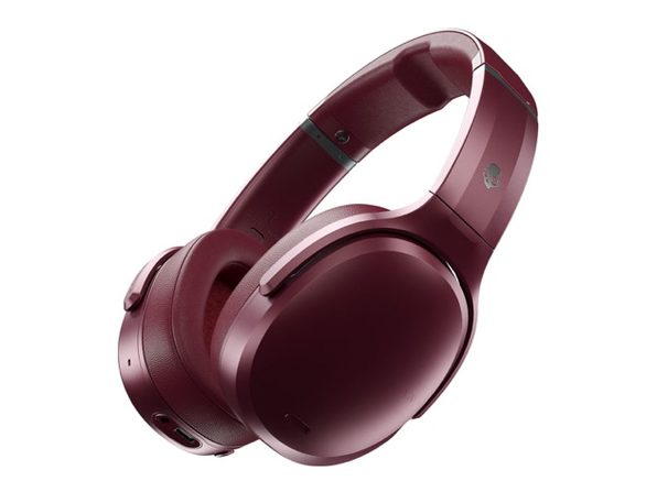 Skullcandy Crusher ANC™ Personalized, Noise Canceling Wireless Headphones (Deep Red)