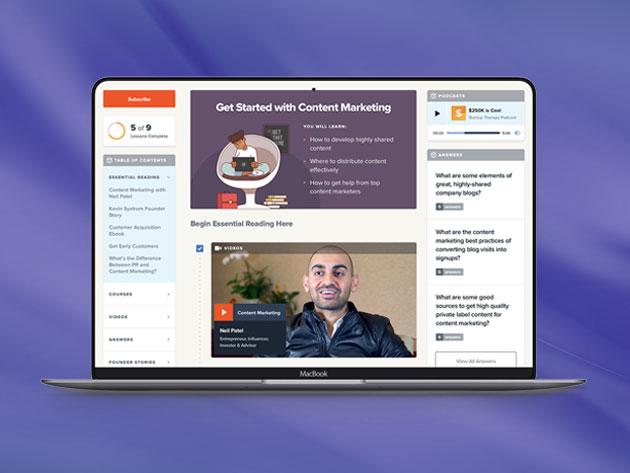 Startups.com Unlimited: Lifetime Subscription