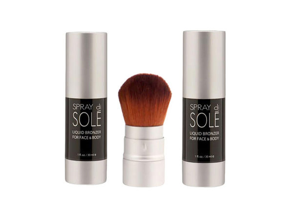 Liquid Bronzer in Brown: 3-Piece Set