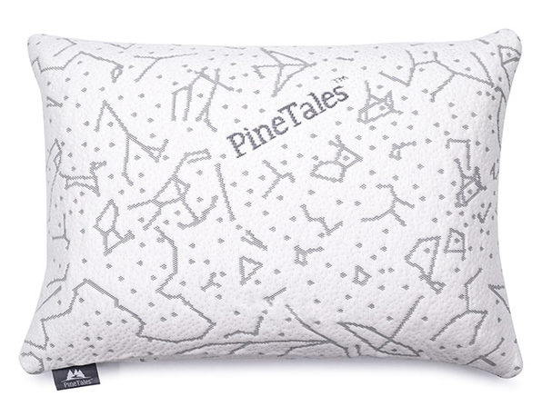 Organic Buckwheat Pillow with Bamboo Cover