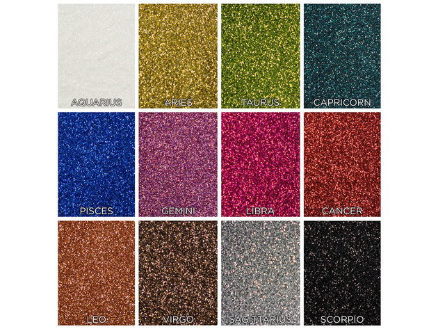 SHANY Colorscope 12-Color Face & Body Premium Cosmetics Grade Glitter Powder - Sparkling Loose Glitter Pigments for Festival, Holiday, Hair and Nail Art. for $25 7