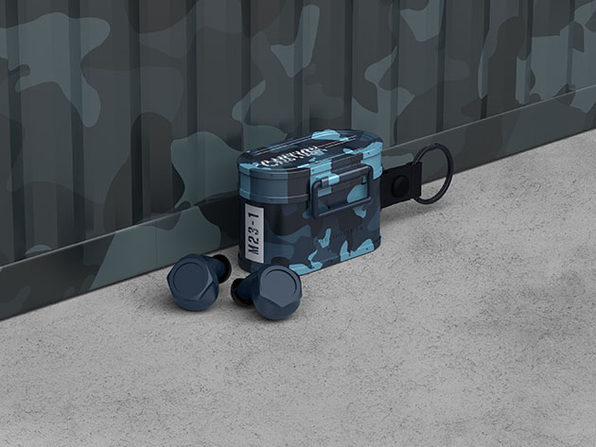 Cargo BT 5.0 True Wireless Earbuds (Camo Blue)