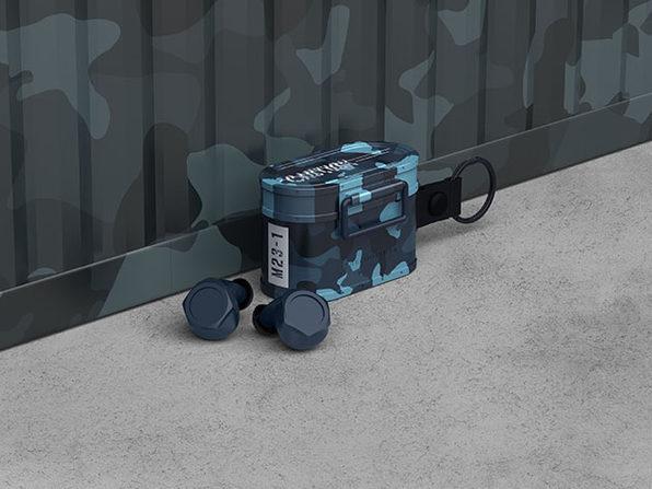 Cargo BT 5.0 True Wireless Earbuds (Camo Blue)