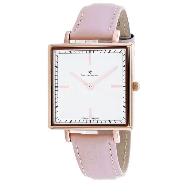 Christian Van Sant Women's Callista White Dial Watch - CV0414 - Product Image