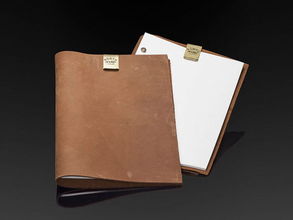 Northbound Notebooks Buffalo Leather A4 Notebook