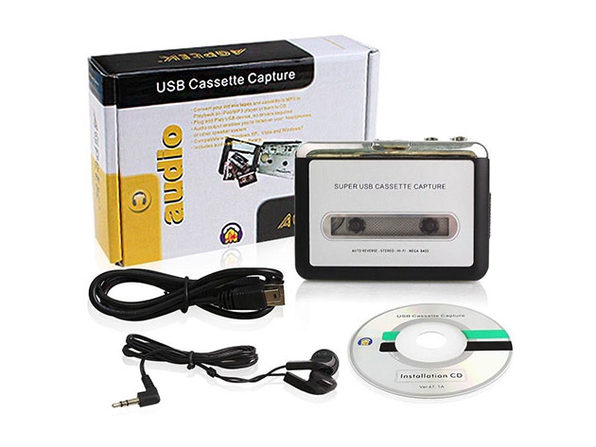 Audio Cassette to MP3 Music Converter