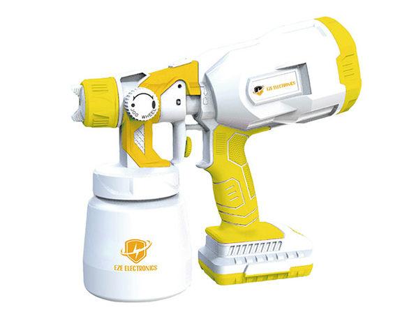 Cordless Handheld Disinfectant Sprayer (White/Yellow)