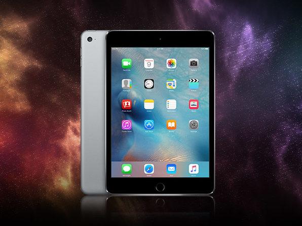 """Apple iPad Mini 4 7.9"""" 128GB WiFi Space Gray (Refurbished)"""