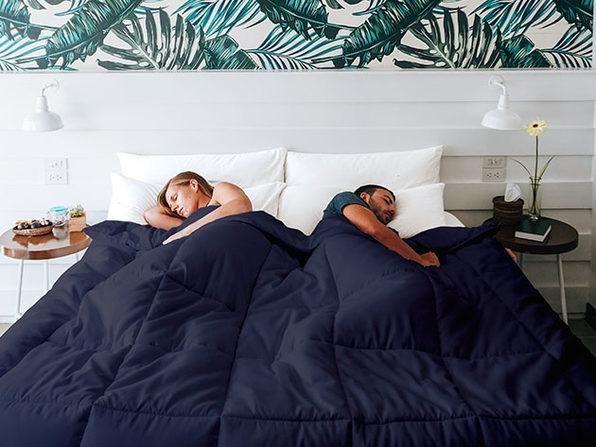SöMN Kömforte Dual Zone Comforter (Navy)