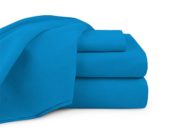 Bali Bamboo Luxury 6-piece Sheet Set Royal Blue Queen - Product Image
