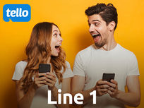Line 1: Tello Value Prepaid 6-Month Plan: Unlimited Talk/Text + 2GB LTE Data - Product Image