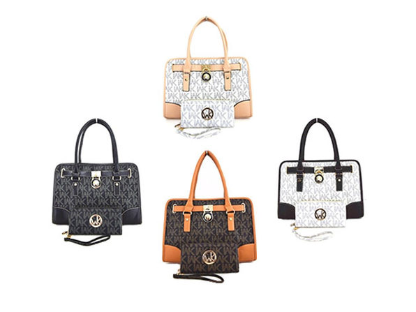 WK Collection 2-Piece Handbag & Purse Sets