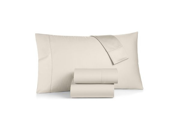 Charter Club Damask 100% Supima Cotton 550 Thread Count Twin Bedskirt, Medium Ivory