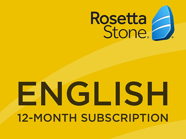 Rosetta Stone - 12 month Subscription - English - US - Product Image