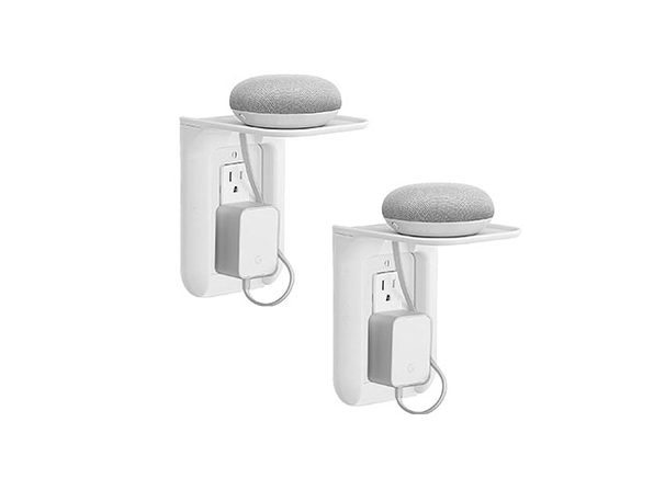 2 Pack Wall Outlet Shelf - Product Image