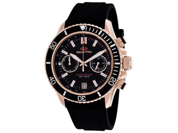 Seapro Men's Thrash Black Dial Watch - SP0333