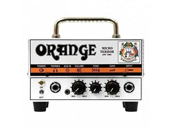 Orange Amps MT20 Micro Terror 20W Electric Guitar Amplifier (Distressed Box)