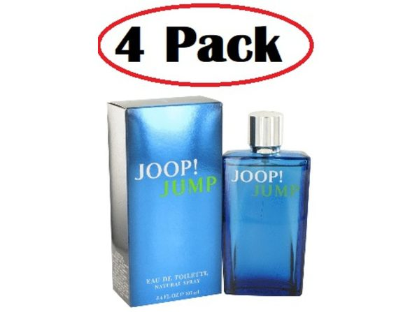 4 Pack of Joop Jump by Joop! Eau De Toilette Spray 3.3 oz - Product Image