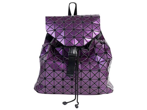 Geo Shaped Backpack (Purple)