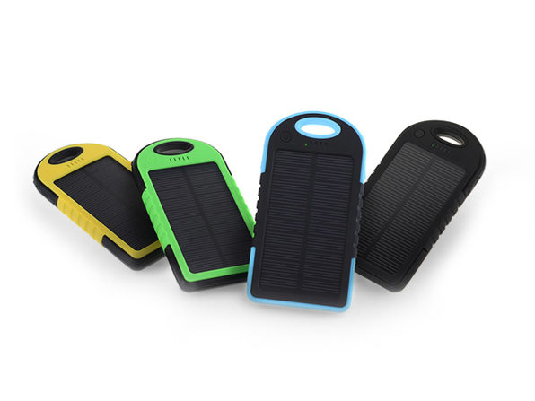 Universal Waterproof Solar Charger (Black)