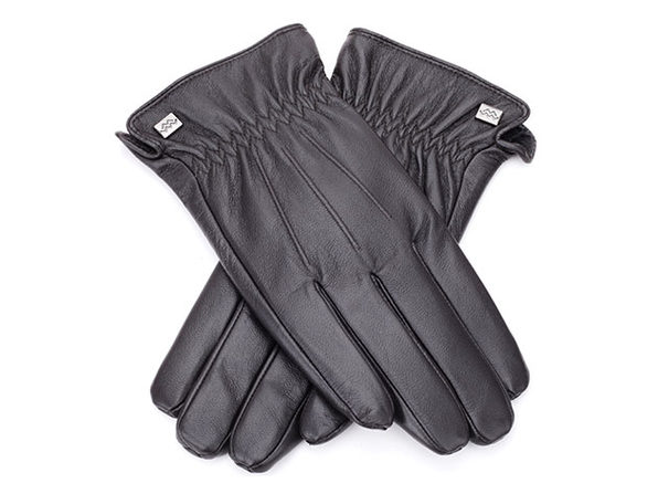 Cold-Weather Leather Gloves (Espresso/XXL)