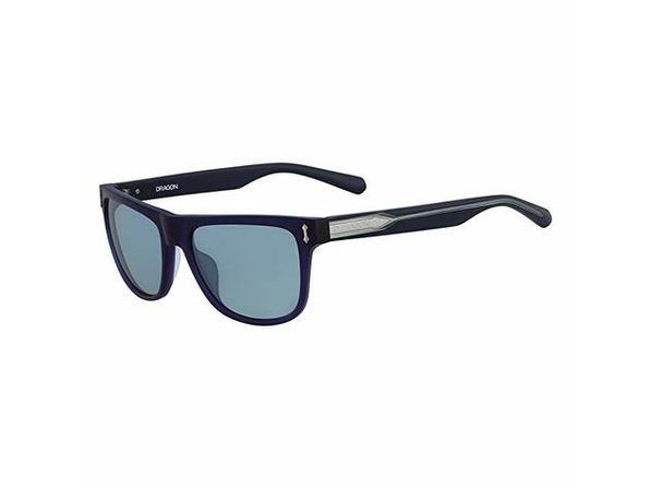 Dragon Brake Sunglasses Matte Crystal Navy/Blue, One Size - Navy
