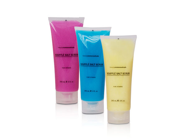 Dead Sea Salt Multi Scrub: 3-Piece Gift Set