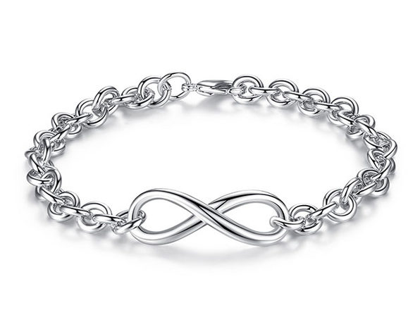 Infinity Multi-link Bracelet 4-Pack - Product Image